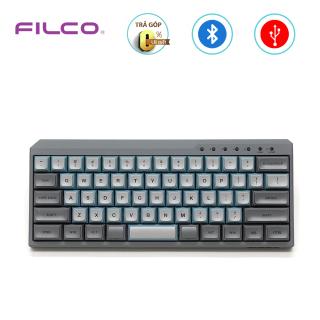 [Trả góp 0%]Bàn phím cơ Bluetooth Filco Minila-R Convertible Sky Gray - Hàng chính hãng thumbnail