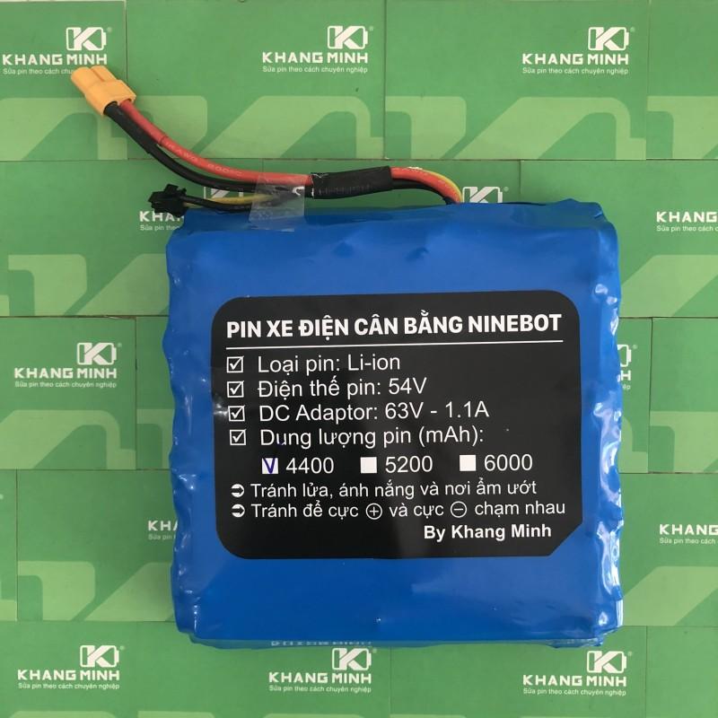 Phân phối Pin xe cân bằng 2 bánh 54V 4.0Ah cảm kết dung lượng chuẩn, dòng xả cao