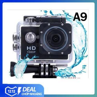 (LOẠI TỐT ) Camera Hành Trình Hd1080 Sport Cam A9 , Rẻ Bất chấp,Xiaomi ,GoPro - Camera hành trình xe máy gắn mũ bảo hiểm - Camera hành trình hành động giá rẻ cho dân đi phượt (bảo hành 12 tháng lỗi 1 đổi 1 trong 7 ngày) thumbnail