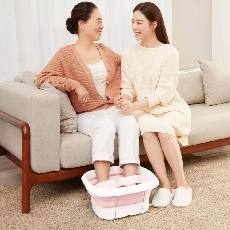 Máy ngâm chân massage Xiaomi leravan lf-zp008 - lf-zp008 - hồng, sản phẩm tốt, chất lượng cao, cam kết như hình, độ bền cao, xin vui lòng inbox shop để được tư vấn thêm về thông tin