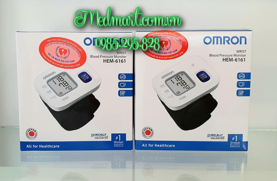 Máy đo huyết áp cổ tay HEM-6161 cao cấp