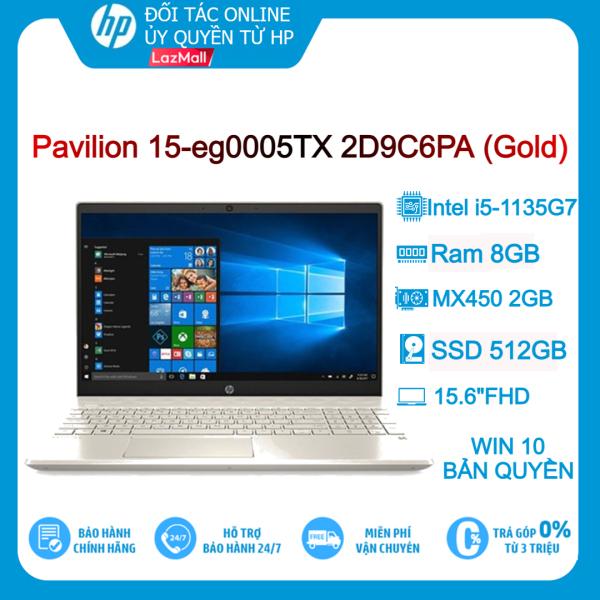 Bảng giá [VOUCHER 3 TRIỆU - 6/6 – 10/6]Laptop HP Pavilion 15-eg000TX 2D9C6PA Gold i5-1135G7 8GB 512GB 15.6FHD VGA 2Gb Win10+Office Phong Vũ