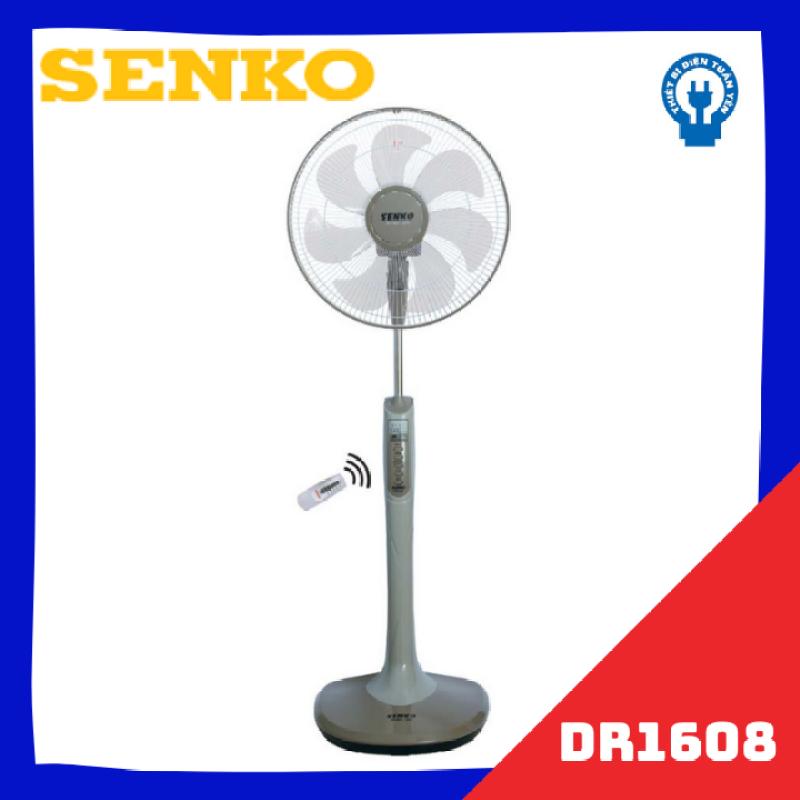 Quạt đứng có điều khiển từ xa Senko DR1608 - Màu ngẫu nhiên