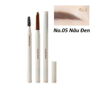 Chì Kẻ Mày Ngang Innisfree Auto Eyebrow Pencil (Trắng) thumbnail