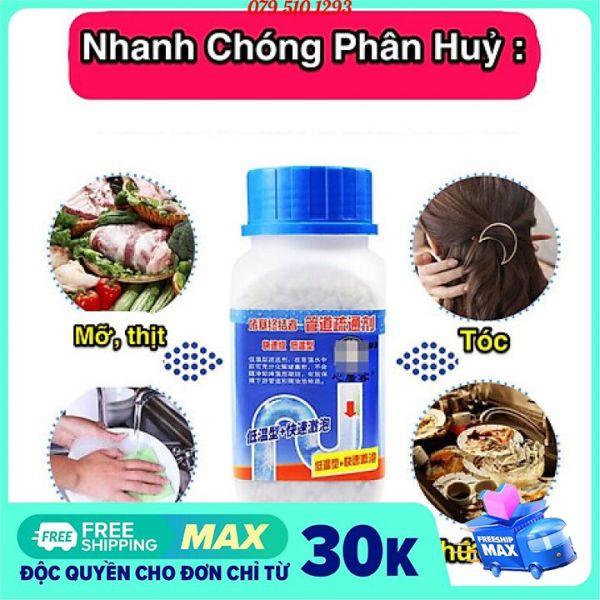 [FREESHIP TPHCM 268G] Chai Bột thông Cống tẩy bồn cầu cực mạnh yuhao, Bột thông cống SIÊU MẠNH, Bột khử mùi bồn cầu Yuhao, bột chống hôi cống. Bột thơm bồn cầu nhà tắm và toilet, vệ sinh toilet