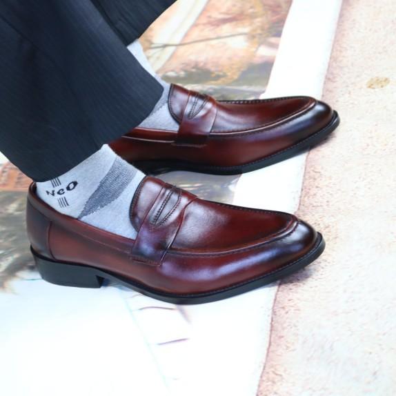 Giày Tây Hot Cực Đẹp Hàng Da Sịn (Gt02-Na) giá rẻ