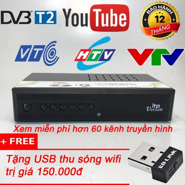 Bảng giá Đầu thu kỹ thuật số DVB T2 LTP STB-1406 tặng usb wifi LB-Link Điện máy Pico
