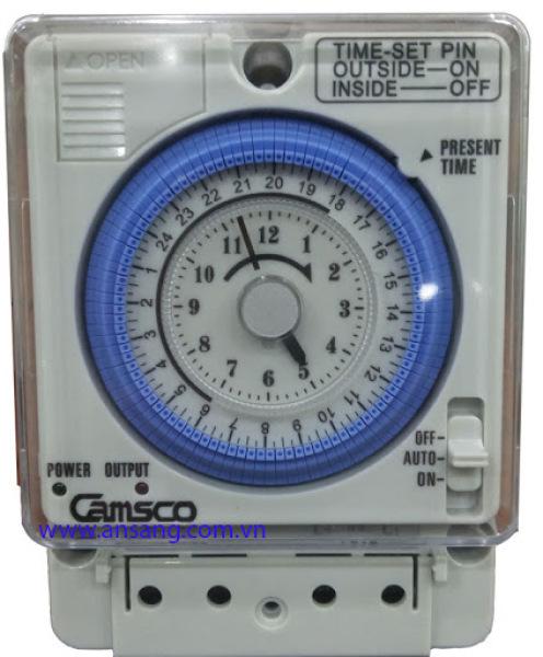 Rơ le thời gian thực bộ hẹn giờ công tắc thời gian Relay thời gian thực Camsco TB35-N (Timer)