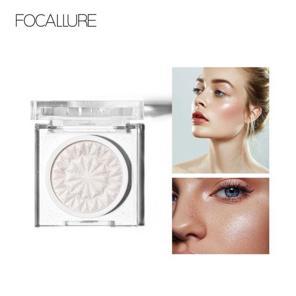 Phấn Highllight bắt sáng FOCALLURE mịn màng lâu trôi dễ sử dụng giúp khuôn mặt long lanh nổi bật - INTL