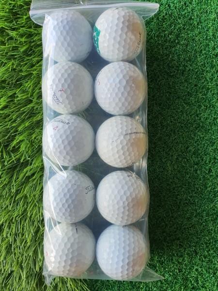 ComBo 10 Quả Bóng Golf Titleist Pro. Chất Lượng Cao Hàng Chính Hãng