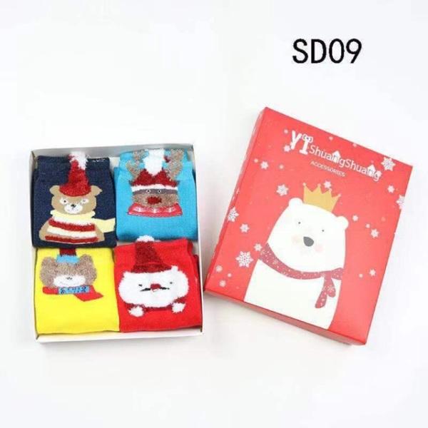 Giá bán Sỉ Tất Noel Nguyên Hộp Cực Cuteeeee Cho Bé