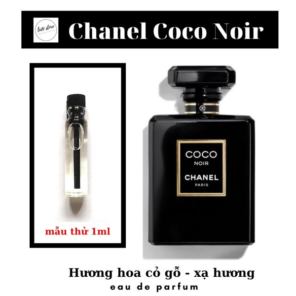 Mẫu thử 1ml Nước hoa nữ thơm lâu Chanel Coco Noir EDP cao cấp chính hãng  - nước hoa nữ quyến rũ xuất xứ Pháp - dầu thơm nữ cao cấp