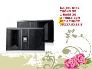 [HCM]Loa karaoke JBL Ki82 Hàng Nhập âm thanh vượt trội thumbnail