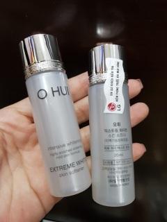 Nước hoa hồng trắng da Ohui Extreme White Skin Softener mini 20ml thumbnail