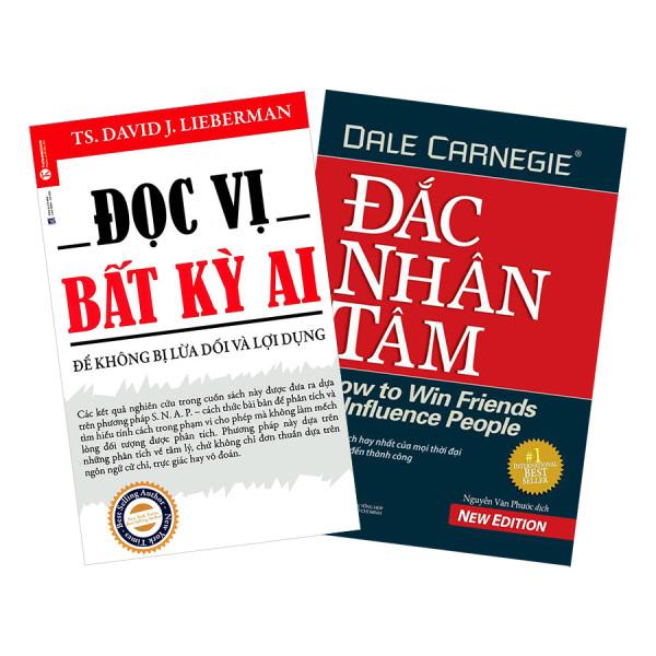 Mua Combo Đọc Vị Bất Kỳ Ai + Đắc Nhân Tâm )+ Tặng bookmark