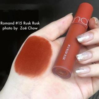 Son Kem Romand Zero Velvet Tint Màu 15 Rusk Rusk thumbnail