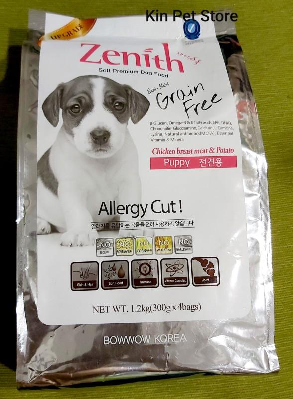 Zenith Puppy [Túi 1.2kg] - Thức ăn hạt mềm cho chó con