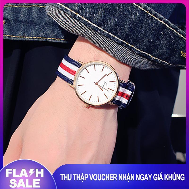 Nơi bán [SIÊU GIẢM GIÁ] [TẶNG HỘP TRI GIÁ 30K] Đồng hồ nữ đẹp tiện lợi dây vải dệt phong cách thời trang Hàn Quốc [Tặng kèm hộp]