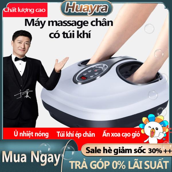 Máy massage chân có túi khí JIASHENGDA ấn bóp điểm huyệt chườm nhiệt nóng xoa bóp bàn chân gót chân máy mát xa chân  trị liệu cao cấp vải lót có thể tháo giặt huayra2020