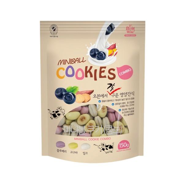 Bánh cookies hỗn hợp thích hợp với mọi giống chó 150gr, chất lượng đảm bảo an toàn đến sức khỏe người sử dụng, cam kết hàng đúng mô tả