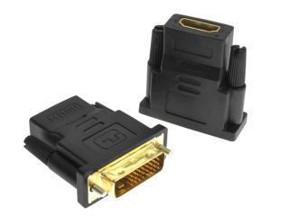 Đầu chuyển đổi DVI-D (24+1) cổng đực sang HDMI cổng cái ,,Đầu Chuyển DVI ra HDMI thumbnail