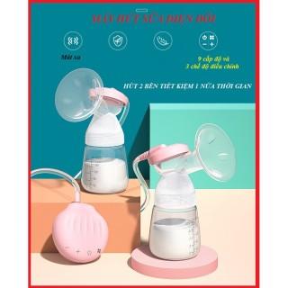 Máy Hút Sữa Điện Đôi Misuta MST0911 Có Mát Xa Kích Tiết Sữa Thiết Kế Nhỏ Gọn, Nhẹ Nhàng Không Gây Khó Chịu Cho Mẹ thumbnail