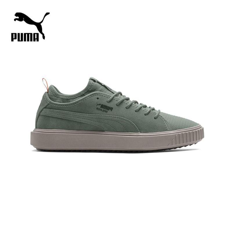 Giày thể thao nam Puma Breaker Mesh FOF (xanh rêu)