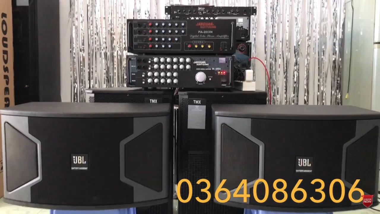Deal Giảm Giá DÀN KARAOKE LOA JBL&AMPLI 600A