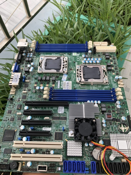 Giá Mainboard Supermicro X8DTL 2 CPU Dual CPU x58 socket 1366 X5670 sử dụng render hoặc giả lập nox ngon như i7 8700