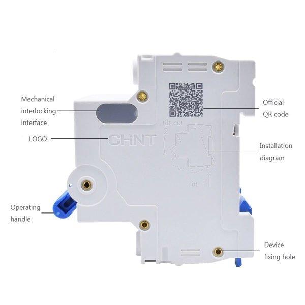 Attomat NXB-63 1P 16A (1 HỘP 12 CHIẾC)