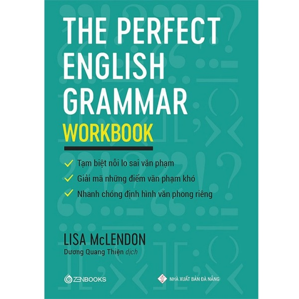Sách The Perfect English Grammar - Workbook - Newshop