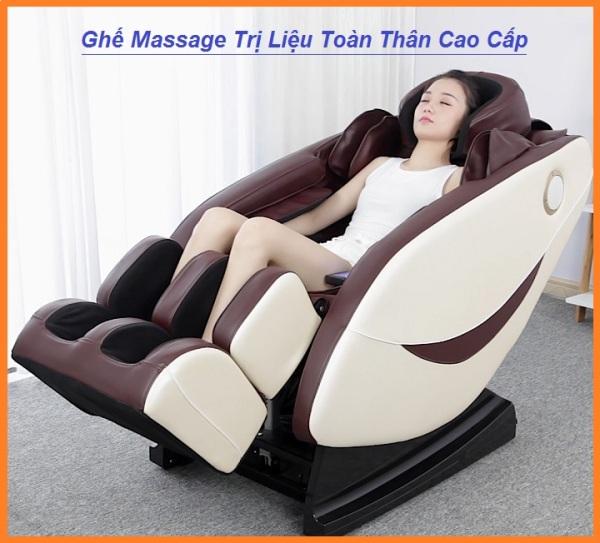 Ghế Massage Toàn Thân Đa Chức Năng, Máy Massage Toàn Thân Công Nghệ Mới