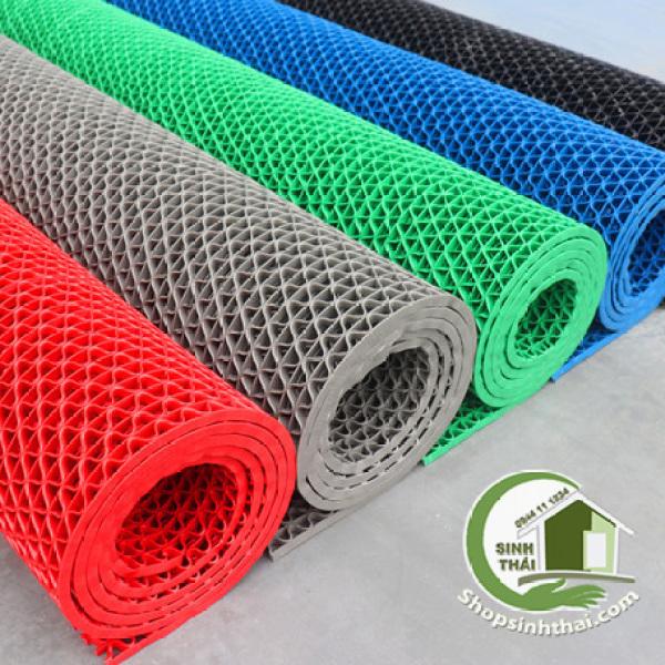 Thảm Nhựa Lưới Chống Trơn - [ 50cm x Khổ 90cm ] - chọn màu