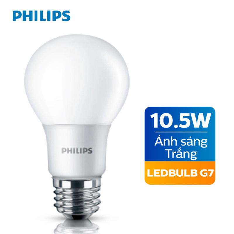 Bóng đèn Philips LED 10.5W 6500K E27 A60 - Ánh sáng trắng