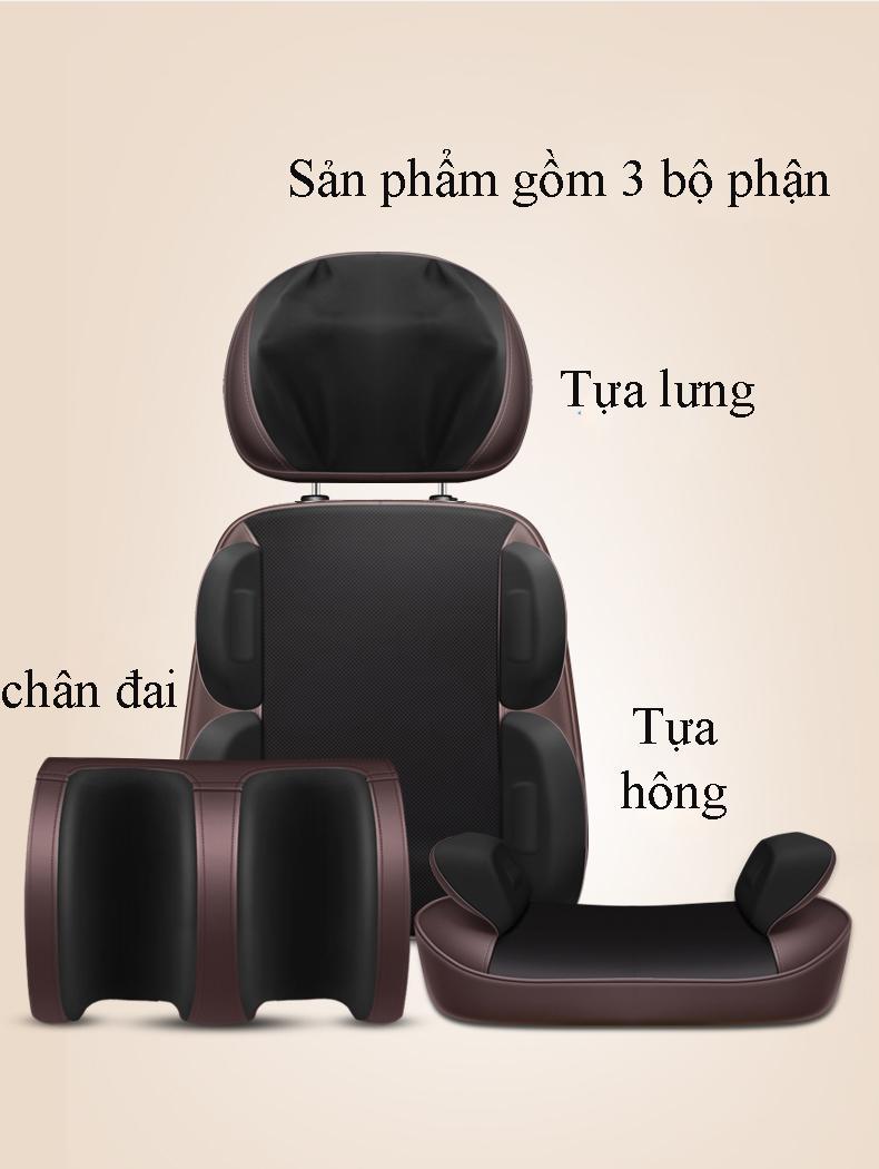 Ghế Massage toàn thân  Le Er Kang tử cổ đến chân thư giãn, trị liệu cơ thể - Hàng cao cấp