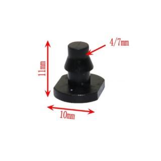 Gói 1000 cái Bịt đầu ống PE LDPE PVC 47 mm BIT47, Bịt cuối cho ống 6mm thumbnail