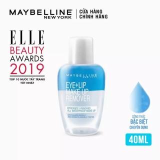 Tẩy Trang Mắt Môi Chuyên Dụng Maybelline New York Eye & Lip Makeup Remover 40ml thumbnail