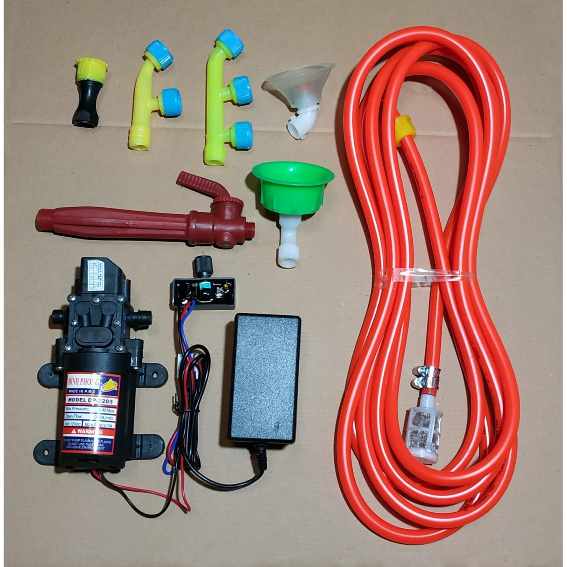 Bơm tăng áp mini tưới cây - máy bơm nước mini 12v - bơm tăng áp mini 12v