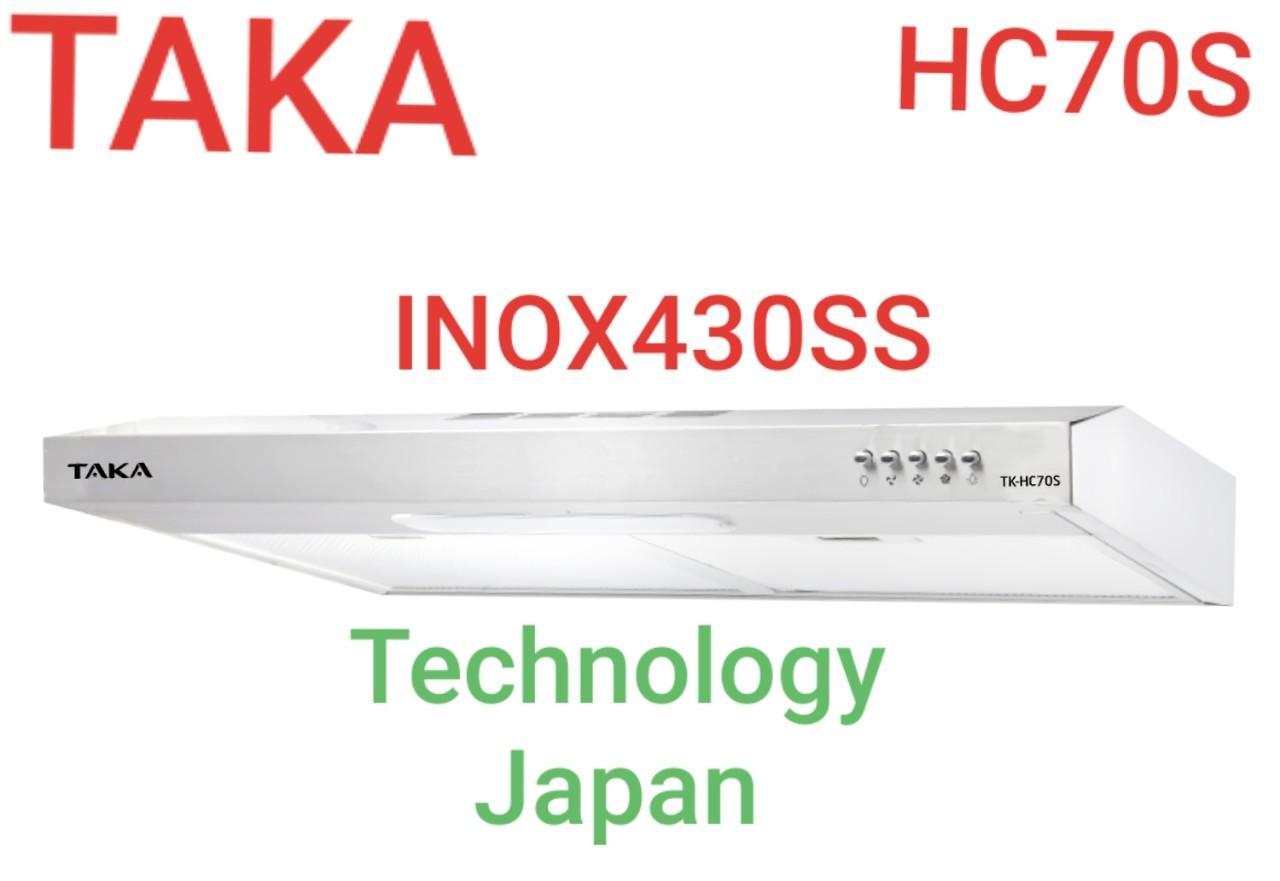 Máy Khử Mùi INOX Quality Japan TAKA HC70S Giá Sốc Nên Mua