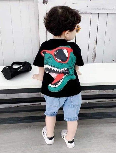 Sét quần áo cao cấp cho bé diên tết mẫu khủng long