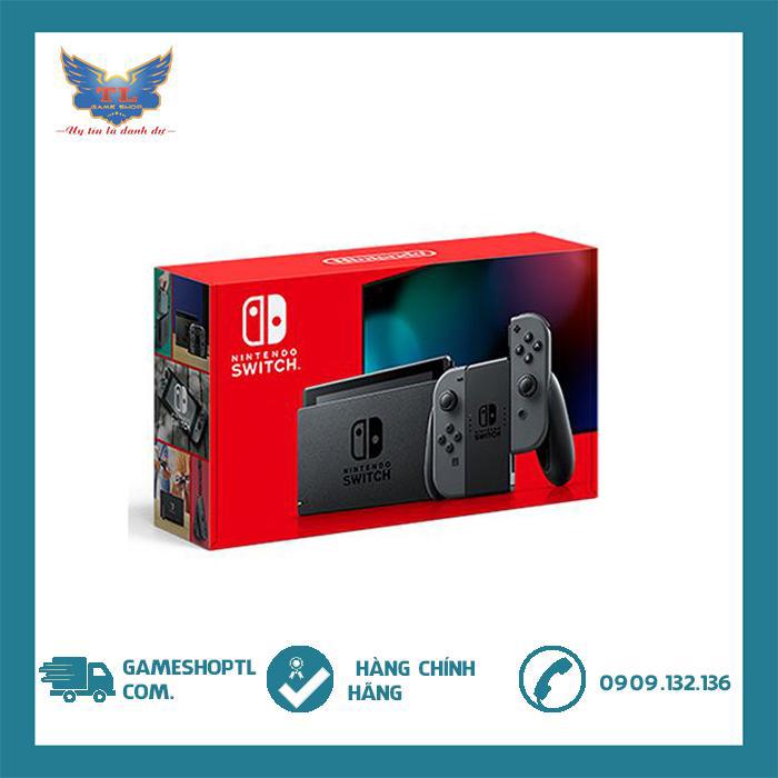 [TRẢ GÓP 0%] Máy Chơi Game Nintendo Switch With Grey Joy-Con- v2- new model