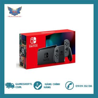 [Nhập mã EXCLUSIVE giảm 10%] [TRẢ GÓP 0%] Máy Chơi Game Nintendo Switch With Grey Joy-Con- v2- new model thumbnail