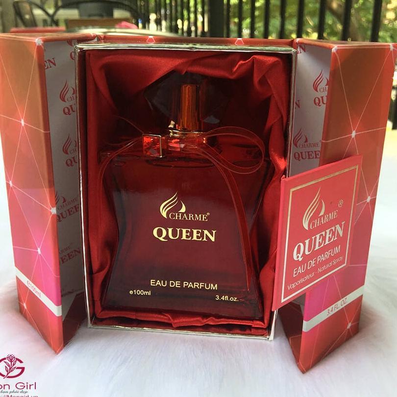 nước hoa nữ queen 100ml  (tặng test) cao cấp