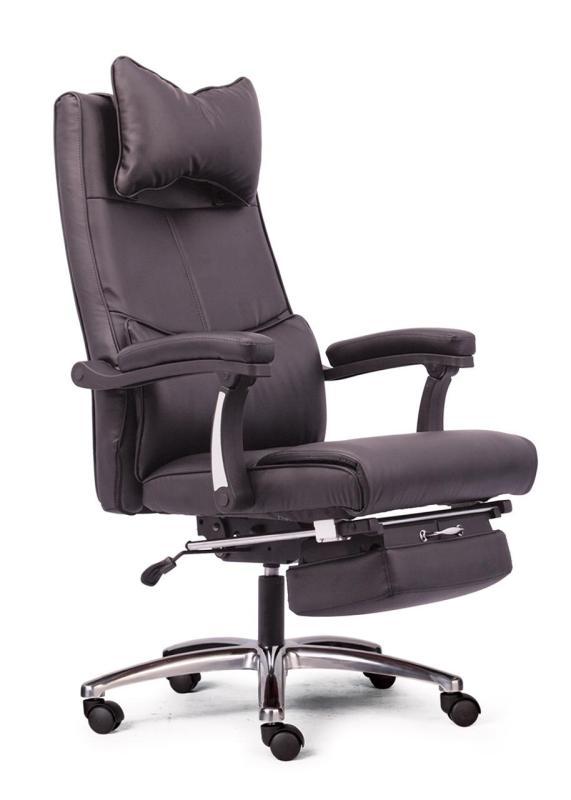Ghế làm việc có gác chân và đầu tựa MNTC-20711-U2 (ĐEN) giá rẻ