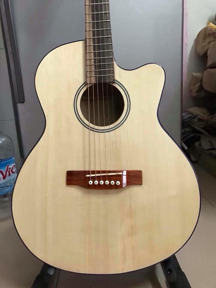 Guitar acoutic A80 có ti chỉnh tặng bao