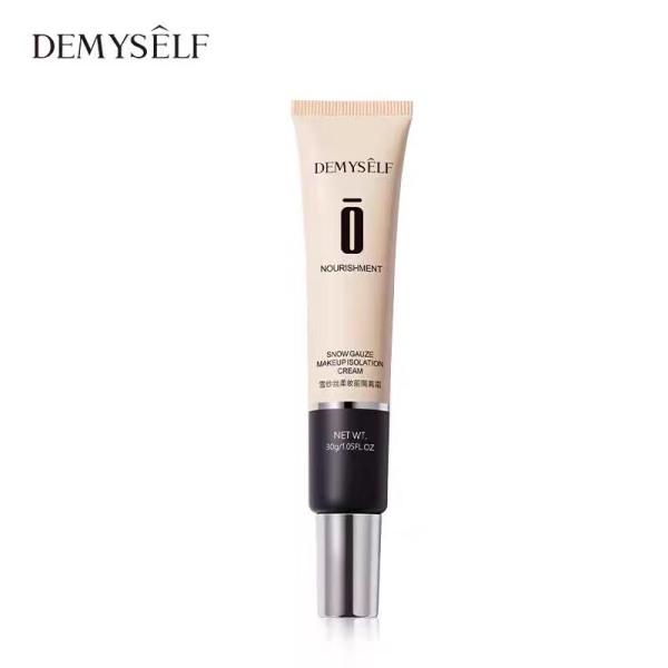 Kem lót DEMYSELF mịn nhẹ che khuyết điểm kiềm dầu Nourishment Snow Gauze Makeup Cream