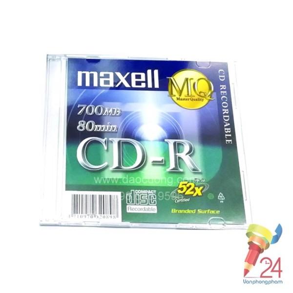 Bảng giá Đĩa Cd-R Maxell (có vỏ hộp), đa dạng mẫu mã, cam kết hàng đúng mô tả, chất lượng đảm bảo, an toàn cho người sử dụng Phong Vũ