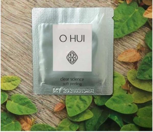 [Combo 10 gói] Sản phẩm tẩy da chết Ohui Clear Science Soft Peeling
