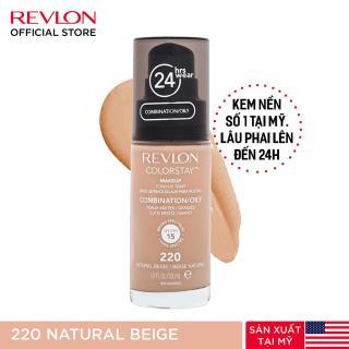 Kem nền lâu phai Revlon Colorstay 24h SPF 15 30ml - 220 Natural Beige (HSD dưới 8 tháng) thumbnail