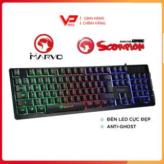 Bàn phím giả cơ chơi game Marvo R8 có đèn Led - VPMAX - bàn phím led, bàn phím giả cơ led, bàn phím gaming thumbnail